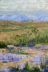 Colorful Desert Views painting