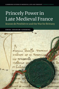 Cover of Princely Power in Late Medieval France