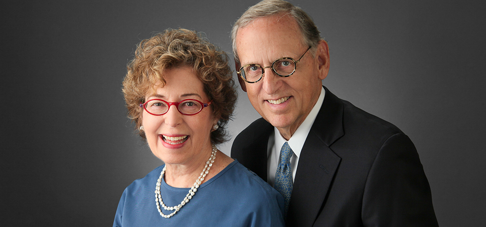Penny Bender Sebring '64 and her husband, Charles Ashby Lewis