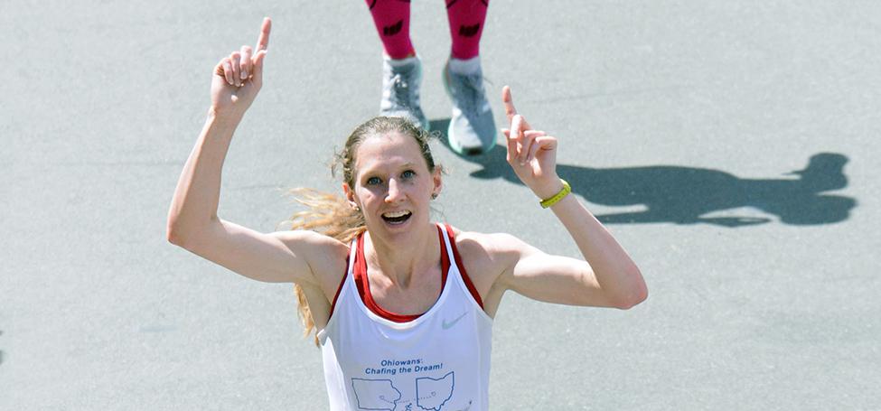 Sarah Burnell Boston Marathon
