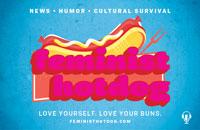 Feminist Hotdog banner