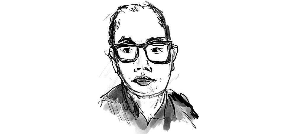 ken Krimstein self portrait