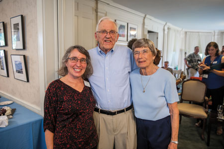 Leslie Lyons and Luther and Jenny Erickson