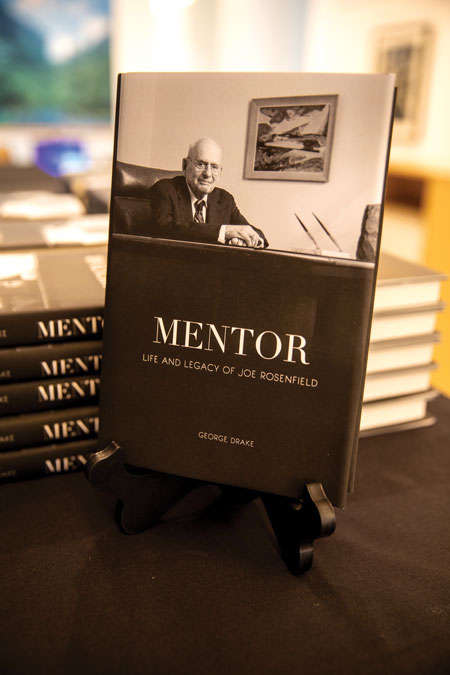 Copies of Mentor: Life and legacy of Joe Rosenfield