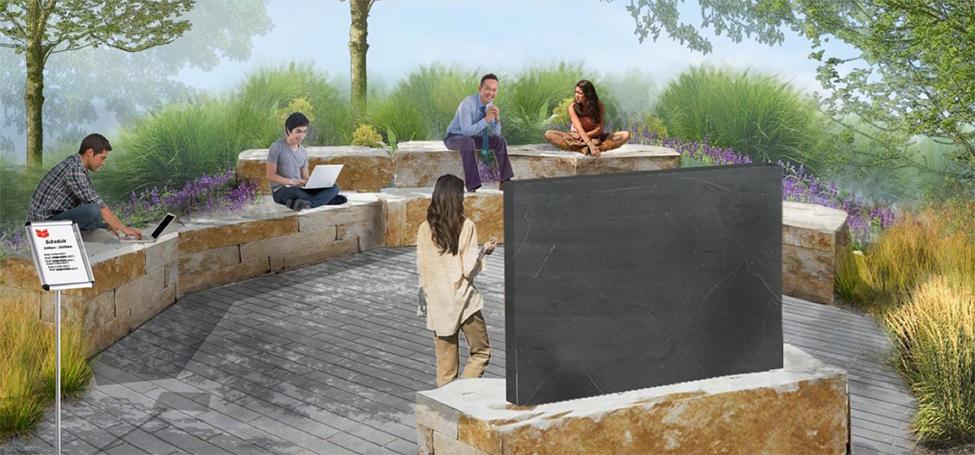 HSSC Outdoor space rendering