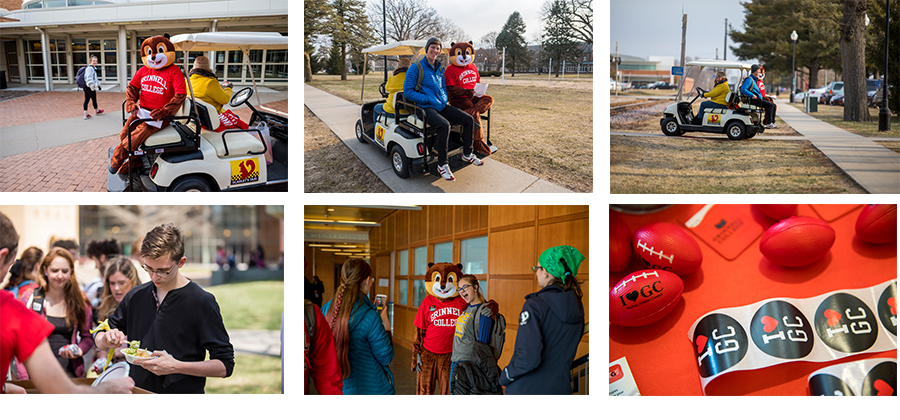 Photos of Scarlet and Give Back Day events
