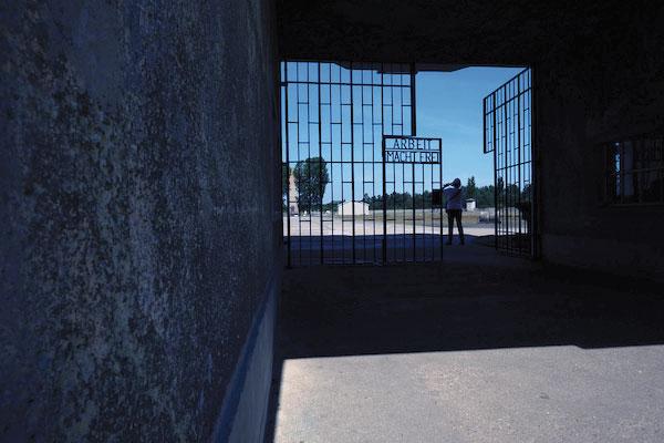 Sachsenhausen concentration gamp gates