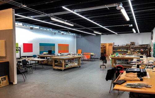 Mathhew Kluber's studio