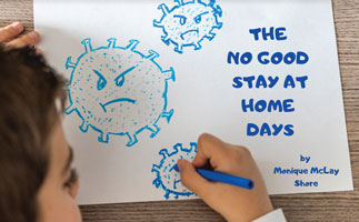 cover of The No Good Stay at Home Days