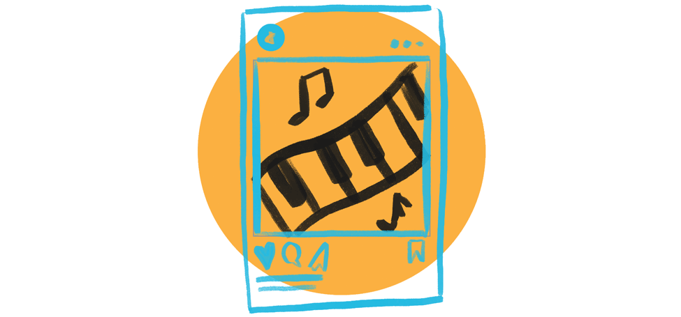 piano tablet icon