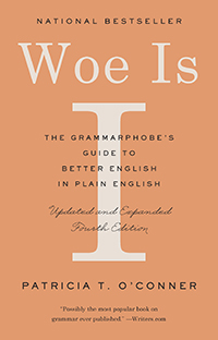 Woe is I book cover