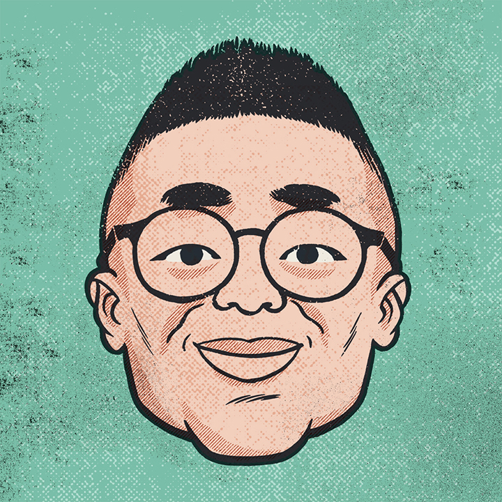 Illustration of Jason Chen '07