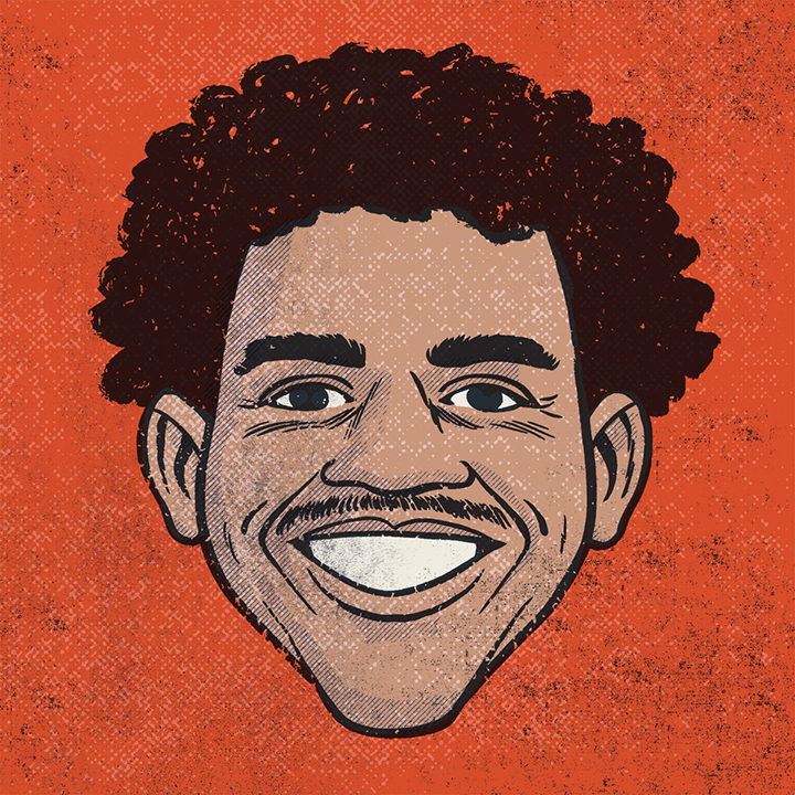 Illustration of Marcus Eagan '12