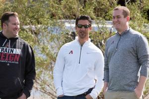 Sam Eaton with Arizona Diamondbacks staff