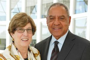 George Moose '66 and Judith R. Kaufmann