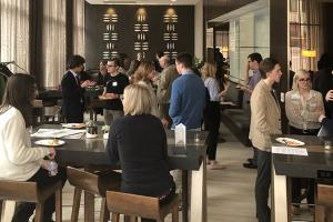 Alumni gathering event in Minneapolis