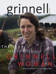 Fall 2018 Grinnell Magazine cover
