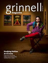 Spring 2018 Cover of The Grinnell Magazine