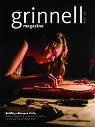 Grinnell Magazine Winter 2016 Cover