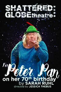 For Peter Pan on Her 70th Birthday theater poster