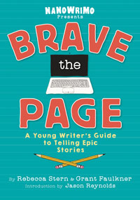 Book cover of Brave the Page