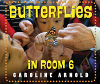 Cover of Butterflies in Room 6 by Caroline Scheaffer Arnold