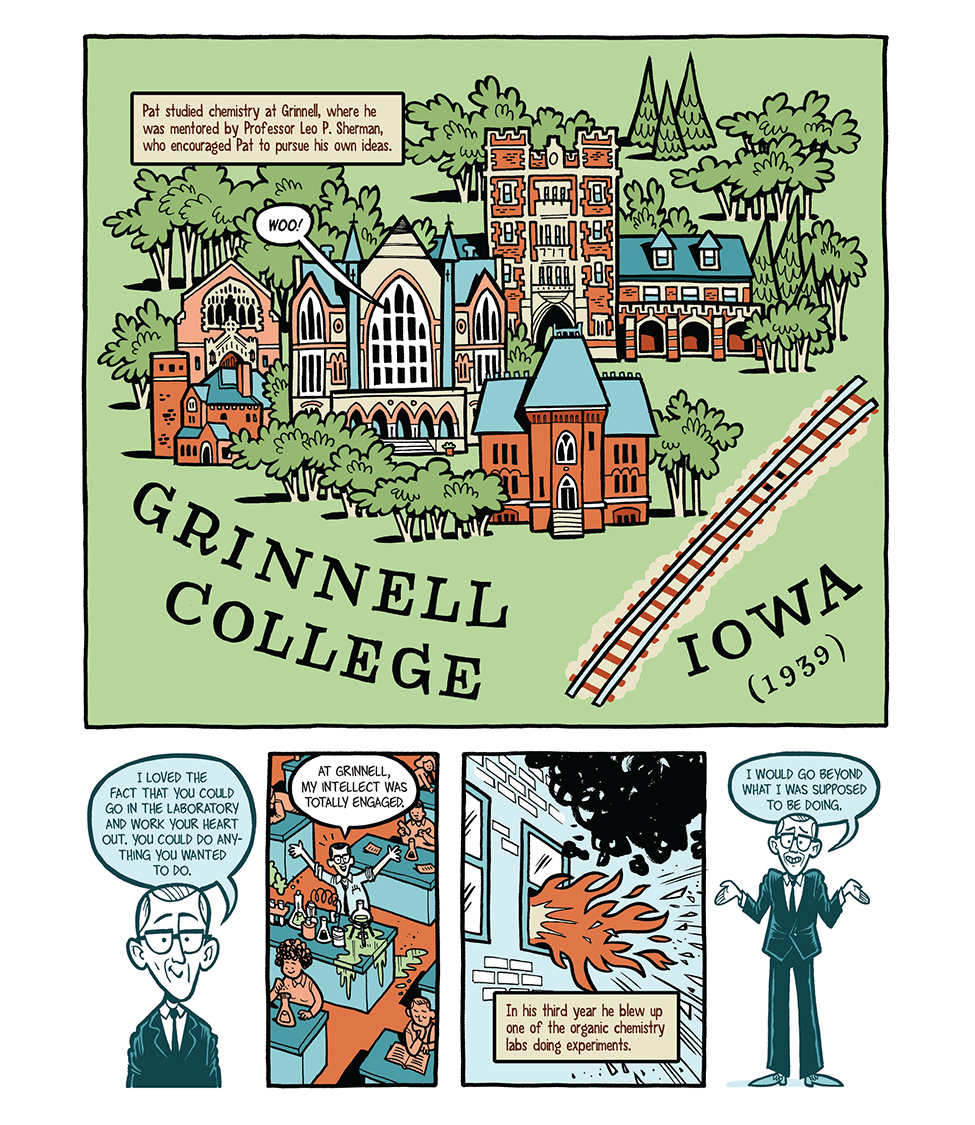 Illustration of Grinnell College