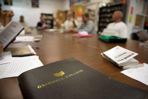 Classroom at the Newton Correctional Facility