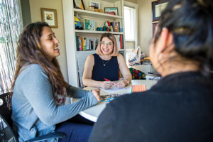 Advising students is a core part of the CLS mission