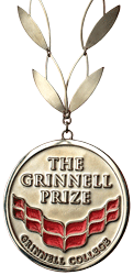 The Grinnell Prize medallion
