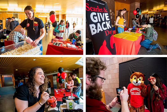 Scarlet and Give Back Day Celebrations