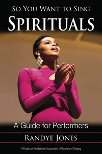 Cover of So you want to Sing Spirituals: A guide for Performers by Jandy Jones