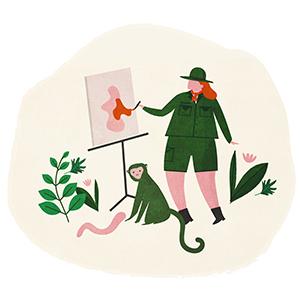 Zookeeper illustration