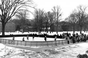 Barber Plaza Dedication Day, Jan. 6, 1962