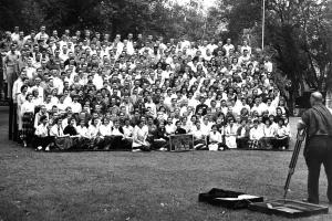 New Student Day 1957 Class Photo