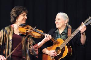 Karen Smith Hirshon on right with Linda Littleton