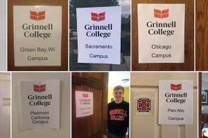 signs from Namyangjoo Korea - Atlanta - Green Bay - Piedmont - Sacremento - Palo Alto - Chicago - Quad Cities - Bettendorf - Boone