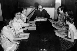 Classroom in 1956