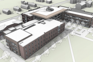 The Humanities and Social Studies Complex's overall design