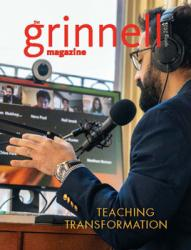 2021 Grinnell Magazine cover