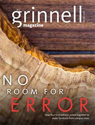 The Grinnell Magazine cover